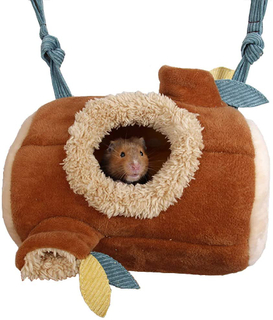 MQUPIN Hamster Hanging Bed Hammock Toy Cage