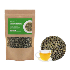 MQUPIN Jasmine Dragon Pearls Green Tea - Premium Flavor Organic Tea 3.5OZ (3.5 Ounces)