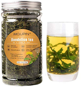 MQUPIN Natural Dandelion Leaf Tea Detox - Raw Organic -Natural Dried Dandelion Root Loose Tea (50g)